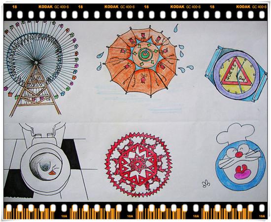 09级视觉传达b班 图形创意设计
